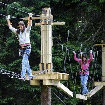 Тренінги командоутворення, мотузковий парк в Карпатах