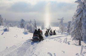 поїздки на снігоходах славське