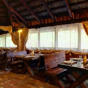 Гриль-бар в Карпатах Пасіка