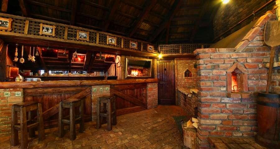 Гриль-бар в Карпатах
