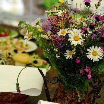 Букет з польових квітів