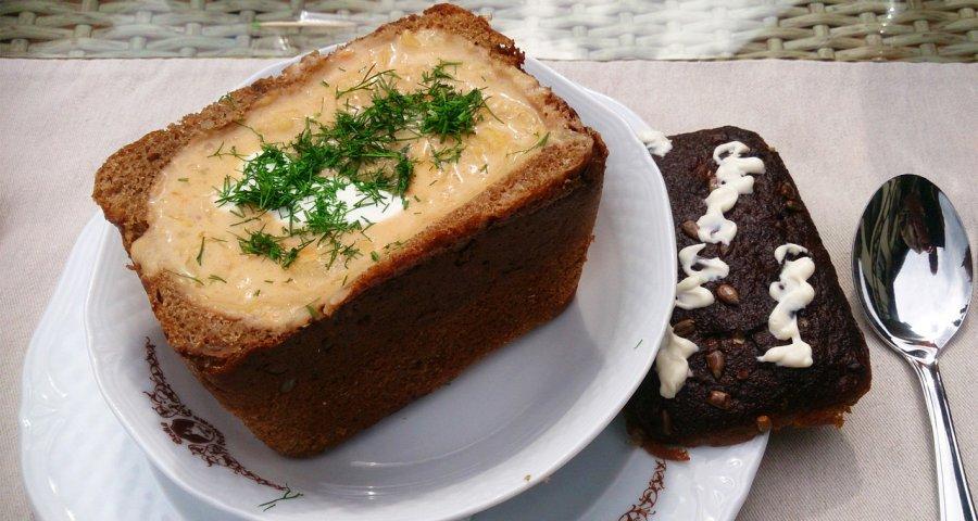 Капусняк у хлібі