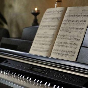 Піаніно в ресторані Трапезна, Карпати