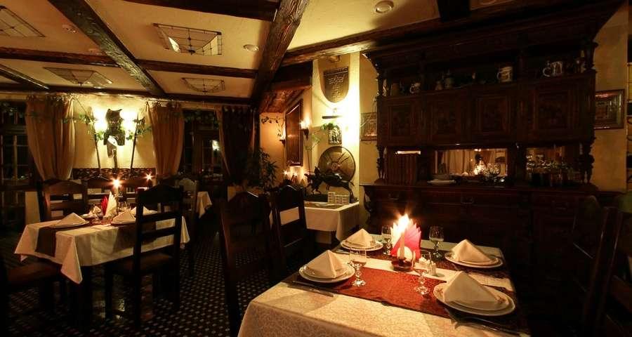Ресторан Трапезна вночі