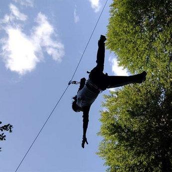 Мотузковий парк Ведмежа Лазанка - найперший в Карпатах