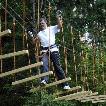 Мотузковий парк в Карпатах, Вежа Ведмежа