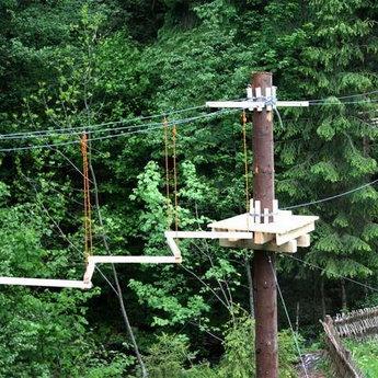 Ведмежа лазанка, мотузковий парк готелю Вежа Ведмежа