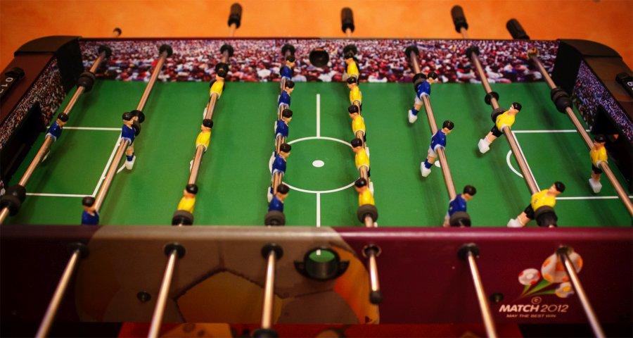 Настільний футбол - ігри дозвілля в готелі Вежа Ведмежа