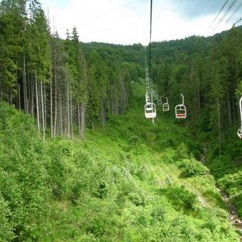 Крісельний витяг на гору Високий Верх, Карпати, Волосянка - Славське