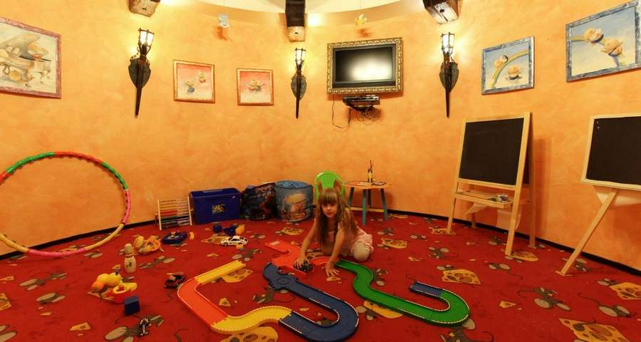 Дитяча кімната в готелі Вежа Ведмежа, Карпати