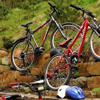 Велосипеди готелю Вежа Ведмежа