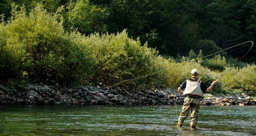 Риболовля в Карпатах
