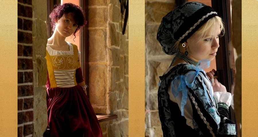Середньовічний жіночий одяг