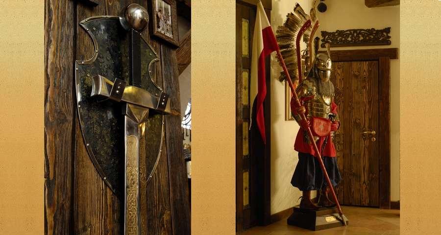 Лицарський меч, лицар на вахті