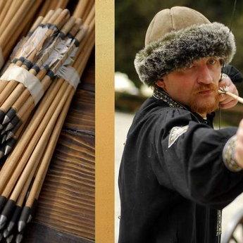 Лучник з луком, стріли