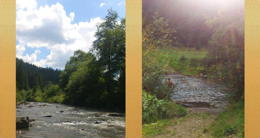 Спокійний відпочинок біля річки