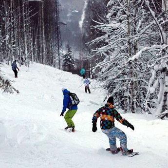 Сноубординг в Карпатах