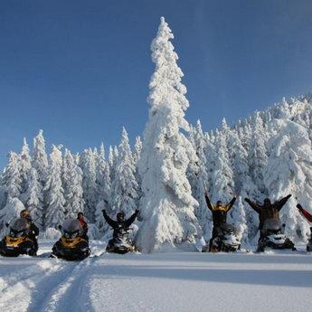 Подорожі на снігоходах по Карпатах