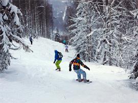Гірськолижні курорти України - Славське (Карпати): гірські лижі, лижний відпочинок у Карпатах 2016
