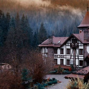 Traveling in the Carpathians in the fall 2019