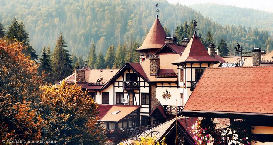 Luxury VIP Hotel in Carpathians - Transcarpathia