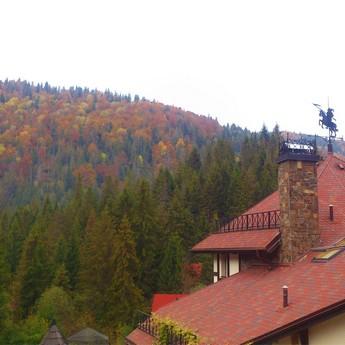 Autumn on Mokhnach in Volosyanka