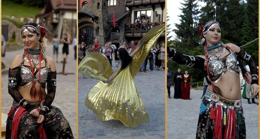 Oriental Dance, bright Rest of the Carpathians