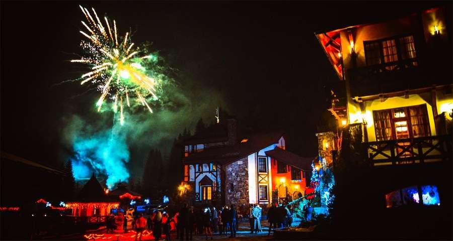 Fireworks in the Carpathians, Vezha Vedmezha