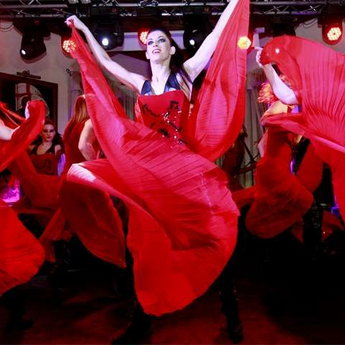 Inflammatory dancing - corporate events in the Carpathians