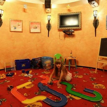 Kids Room for rest and amusement of children in the Carpathians