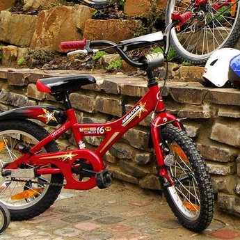 Children's bicycles and cycling - are essential components of family fun