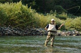 риболовля у Карпатах