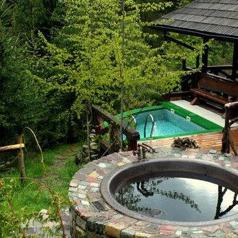 SPA-відпочинок у Карпатах 2019 літом: чан та ополонка серед лісу, руська лазня (Волосянка/Славське)
