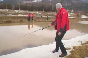 зимова риболовля в карпатах