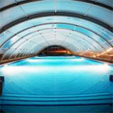 Закритий басейн в Карпатах