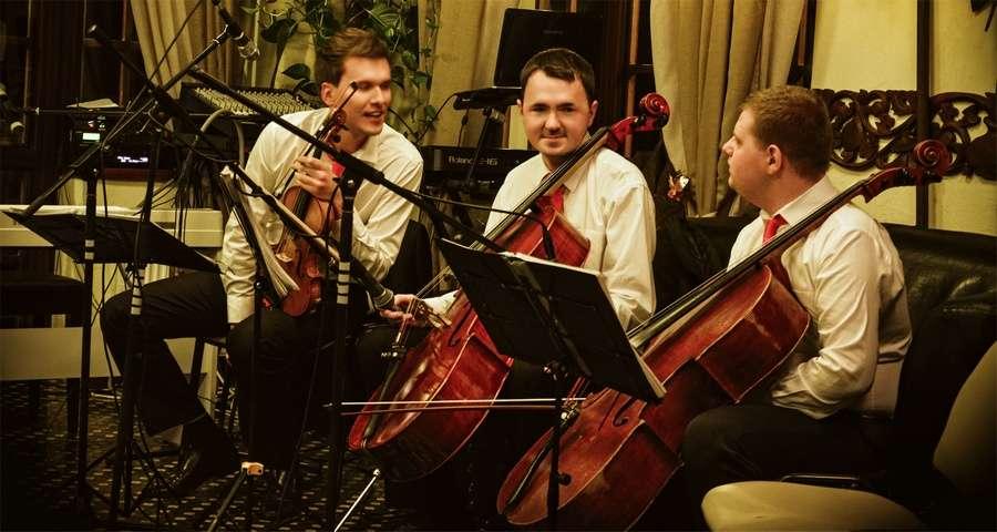 Новорічна святкова програм не обходиться без скрипалів