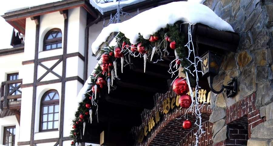 Новий рік в Карпатах в готелі Вежа Ведмежа
