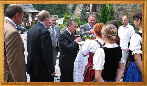 Борис Колєсніков і Сергій Бубка