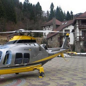 Вертоліт-гвинтокрил в готелі Вежа Ведмежа