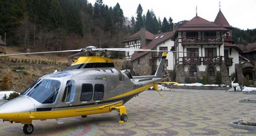 Helicopter in Vezha Vedmezha