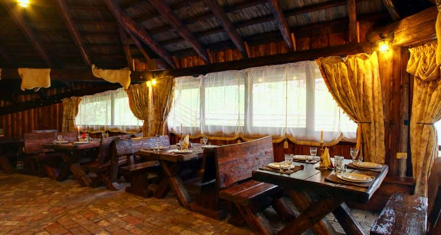 Bar and Grill in the Carpathian Pasika