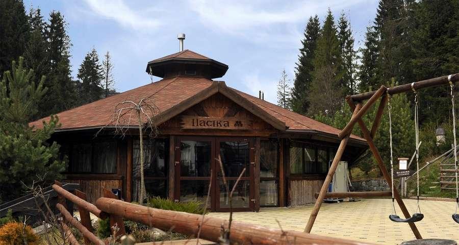 Facade of Pasika Bar and Grill, Carpathians: Slavs'ke-Volosyanka