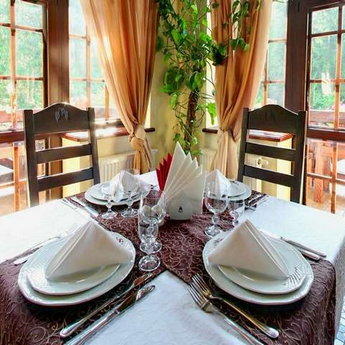 Dinning in the Carpathians