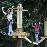 Мотузковий парк у Карпатах