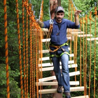 Мотузковий парк Ведмежа лазанка