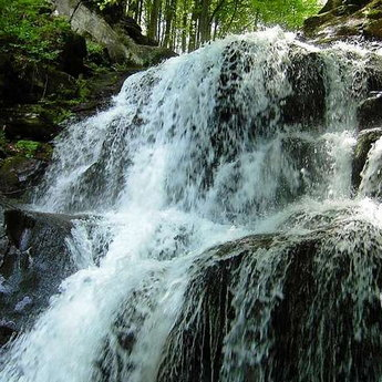 Водопад Шипіт, Карпати