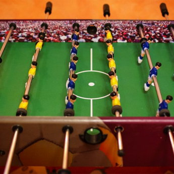 Table Football - Board Games at the Vezha Vedmezha Hotel