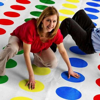 Twister - Board Games at the Vezha Vedmezha Hotel