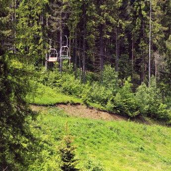 Chairlift, Carpathians, Volosyanka