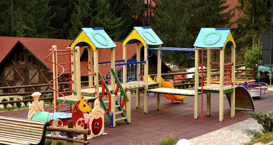 Outdoors Playground in the Carpathians, Vezha Vedmezha